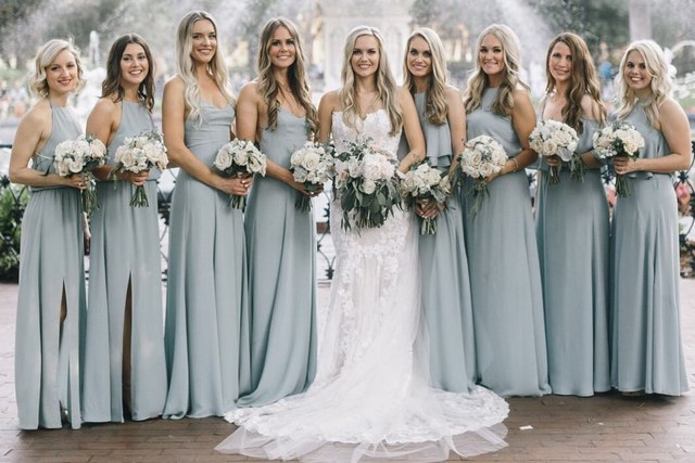 Top 8 Bridesmaid Dresses Color Trends For 2019