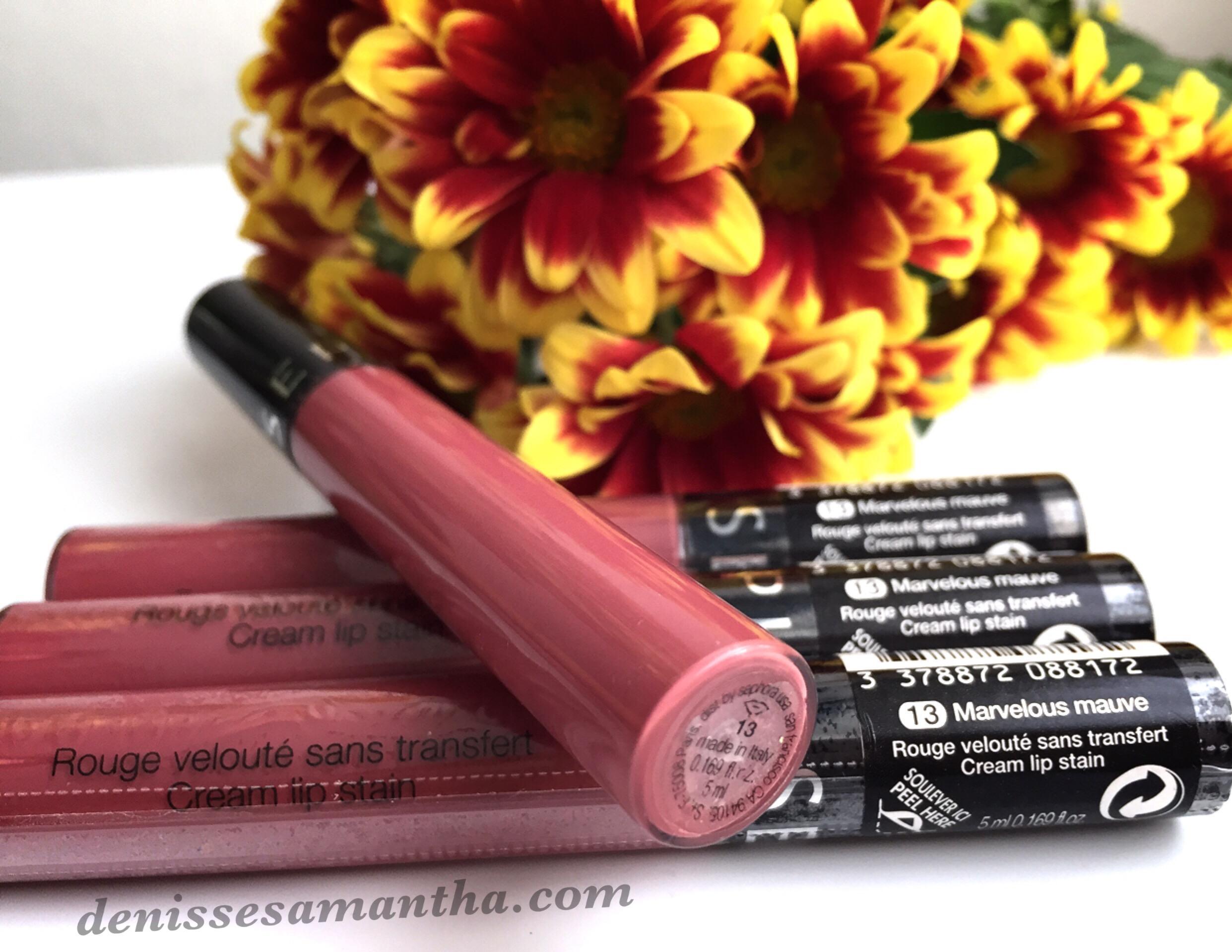Sephora Cream Lip Stain in Marvelous Mauve Review