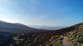 Deeside from above Glen Gelder