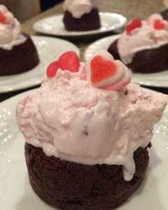 Molten Lava Cakes for Valentine Day