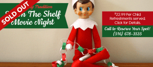 Elf on the Shelf Movie Night - A Holiday Tradition @ Dees' Nursery