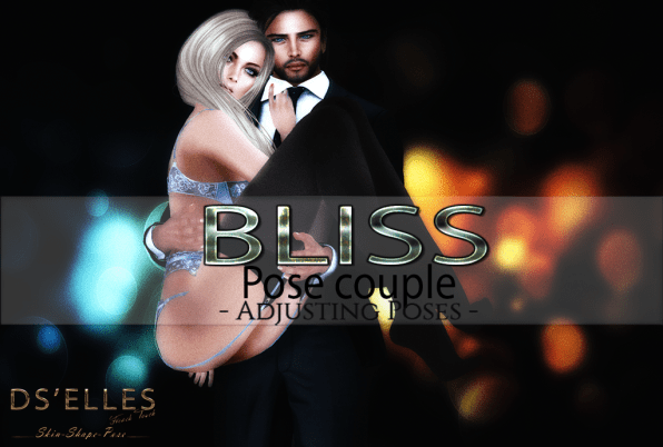 Affiche BLISS pose couple DS'ELLES