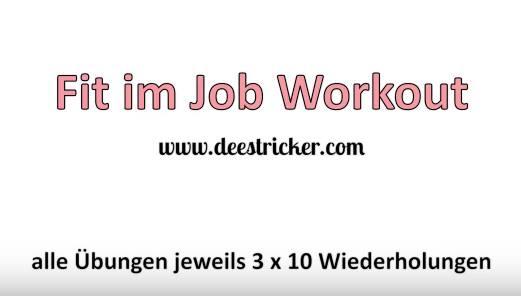 WORKOUT: Fit im Job & unterwegs