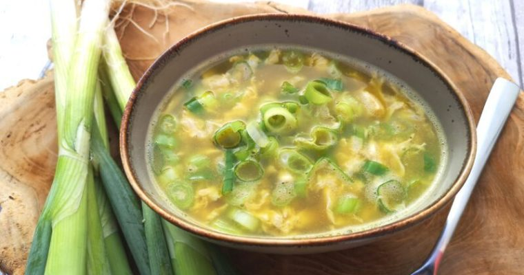 Eierstich-Suppe