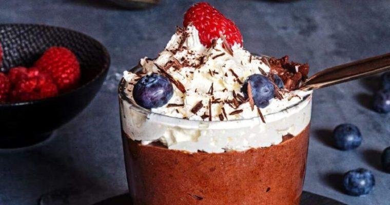Schokoladen-Mousse mit Kochvideo