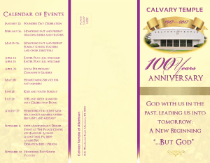 100 anniversary brochure light front