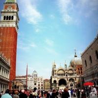 Slacking at Piazza San Marco