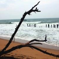 Waves in Auro beach