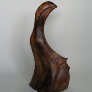Timothy Allan Shafto Nene back sculpture