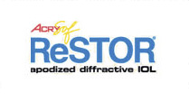 AcrySof ReSTOR received FDA-approval in 2005 and is marketed by Alcon Inc.