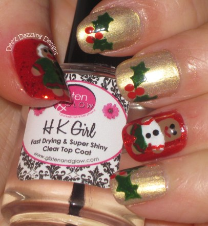 Gingerbread&Holly-1