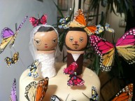 Wedding Cake Toppers by Dolls of Cuteness