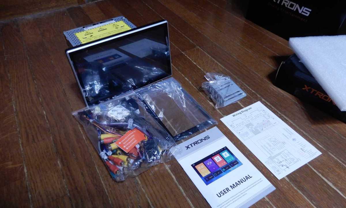 AndroidカーナビXTRONS TE103SIPを購入したので自宅で動作確認