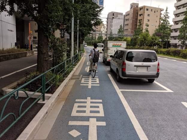 白山通り自転車レーン4
