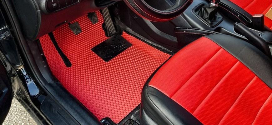 коврики для авто ева