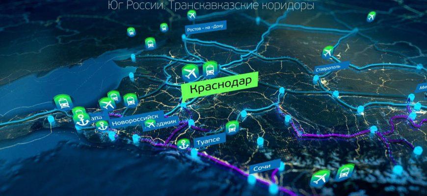 интерактивная карта в реальном времени