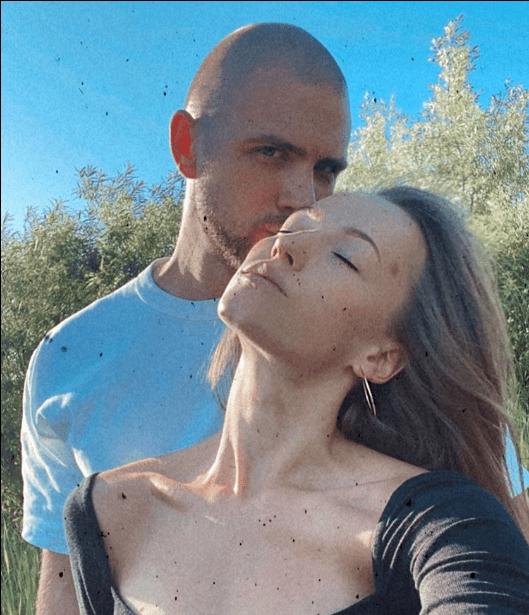 Александр Галичкин и Софья