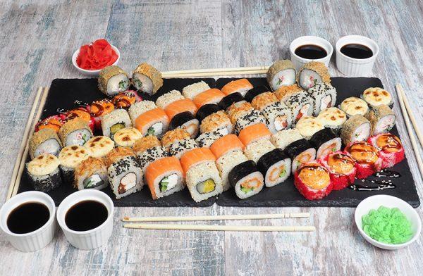 заказывать доставку суши