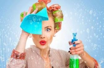 Как помыть зеркало без разводов