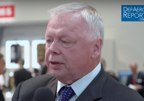 BAE Systems' Garwood on Global Defense Exports, Middle Eastern Military Spending