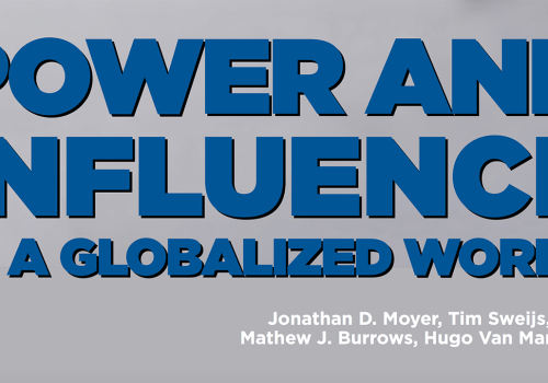 Atlantic Council: 'Power and Influence in a Globalized World'