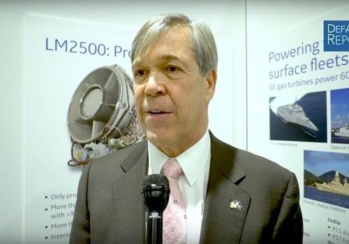 GE Aviation's Bolsinger on Marine Propulsion, US Navy Future Frigate Competition, LM6000 Engine
