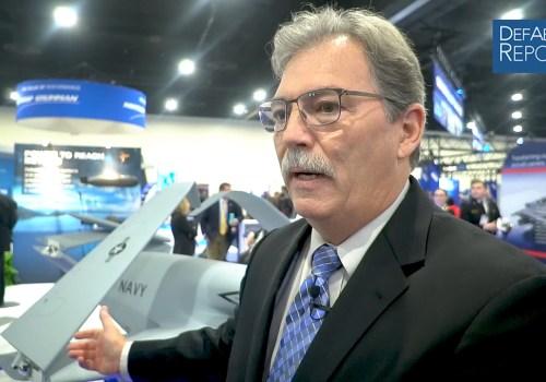 General Atomics' Alexander on Unmanned Tanker Offering for US NavyMQ-25 Program