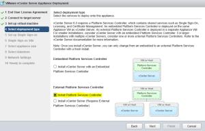 External Platform Services Controller Setup 03