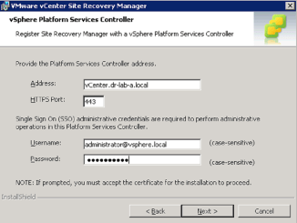 upgrade Site Recovery Manager 5.8 featured