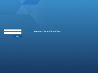 ESXi Embedded Host Client 01