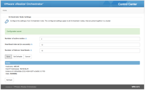 vRealize Orchestrator 7 in cluster mode 01