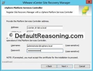 Upgrade Site Recovery Manager 6 - 01