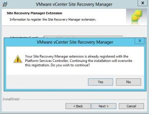 Upgrade Site Recovery Manager 6 - 02