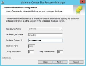 Upgrade Site Recovery Manager 6 - 04