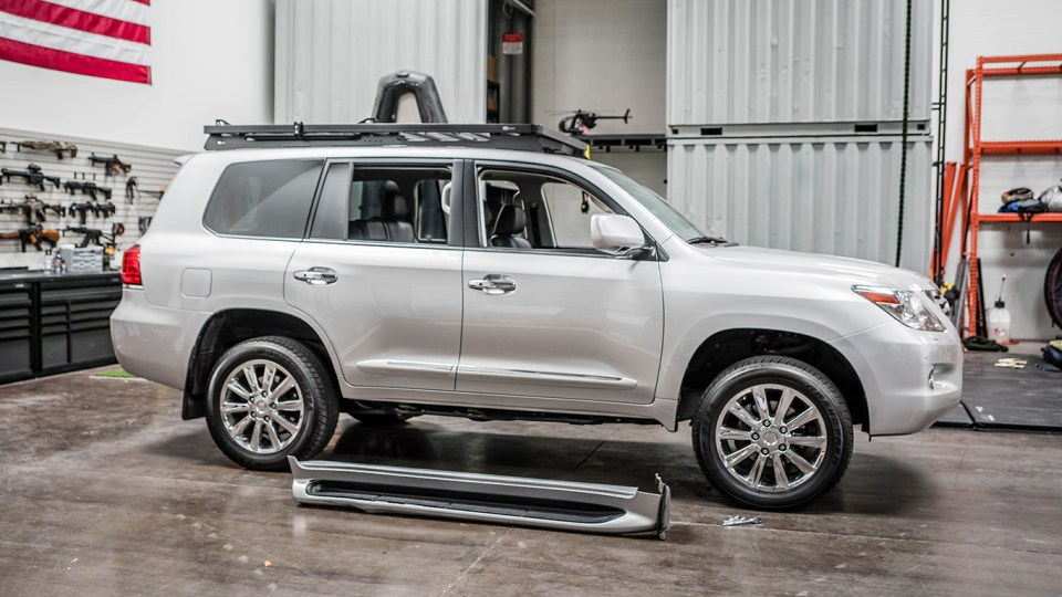 Lexus LX570, overland, landcruiser, 200 series, adventuremobile