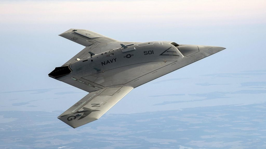 Usa Develops New Stealth Unmanned Aircraft For Aerial