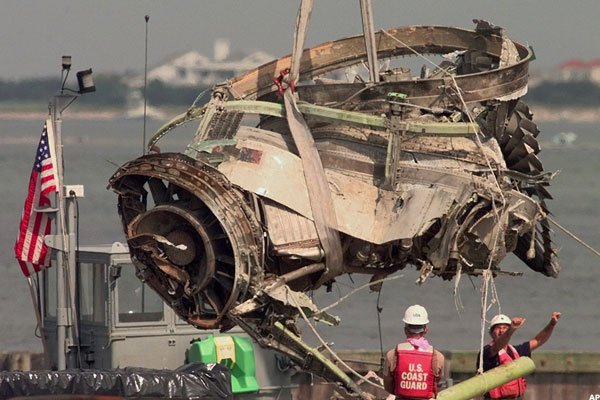 Debris Engine of Boeing 747-131