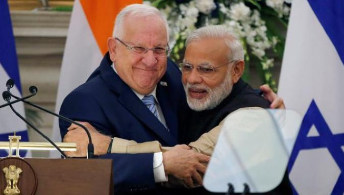 modi-israeli-foreign-minister