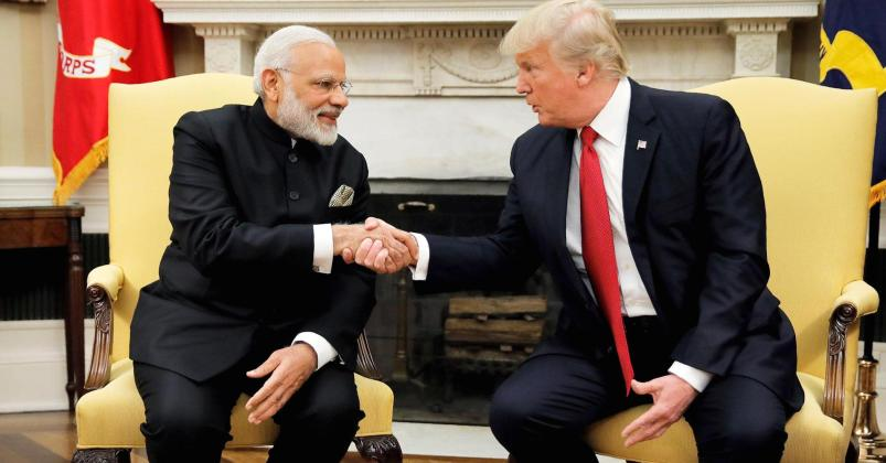Trump must support India against China:American Media