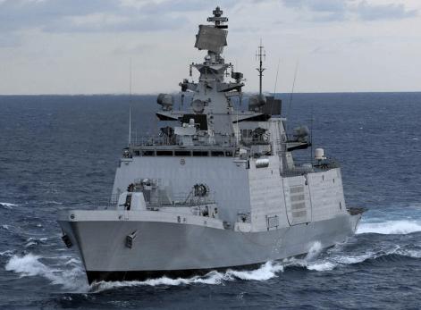 Shivalik class frigate