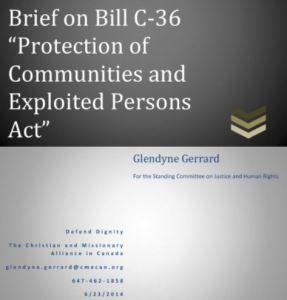 Bill C-36 Brief