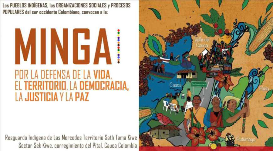 Comunicado a la opinión pública nacional e internacional ante la masacre de la guardia indígena en Dagua Valle