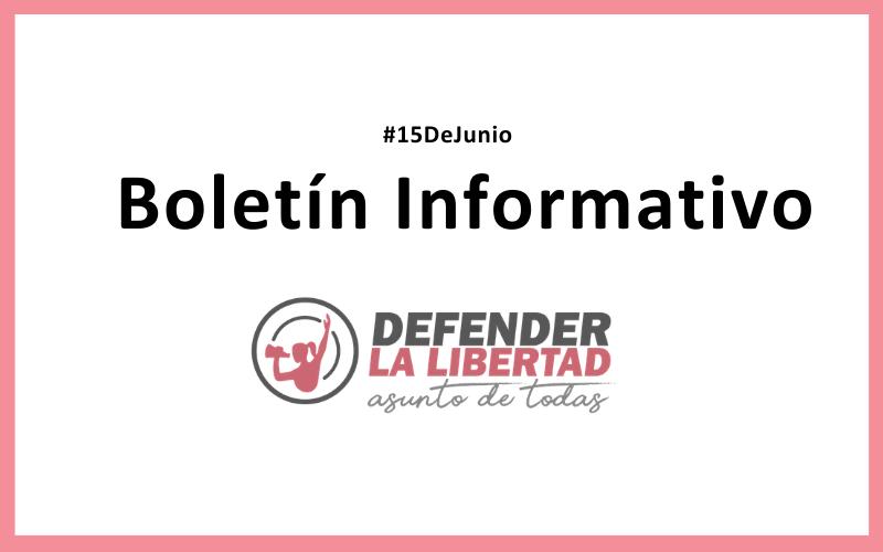 Boletín Informativo: #15DeJunio