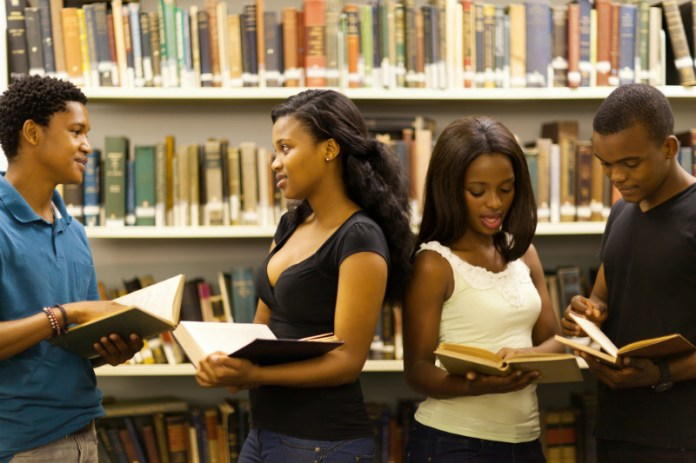 Image result for Black students chatting