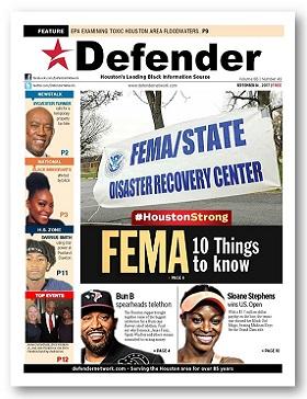 Houston Defender September 14