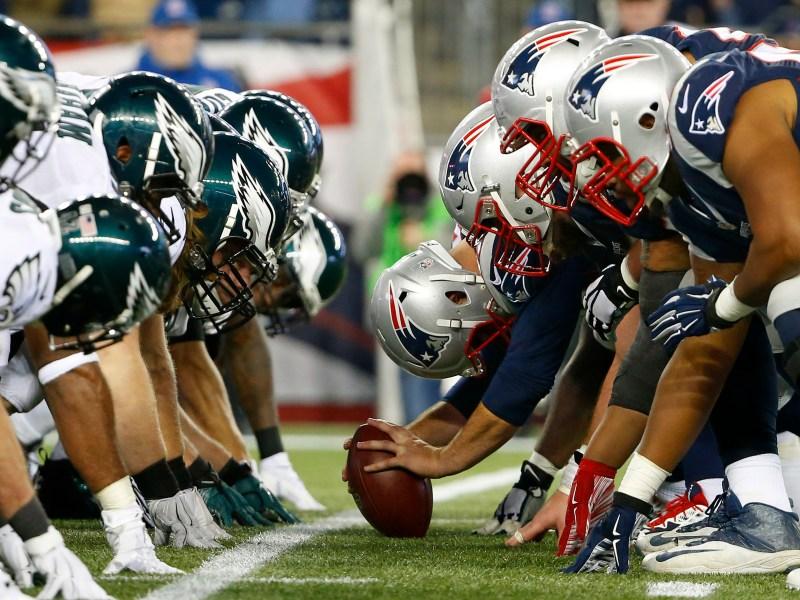 Eagles Patriots Football