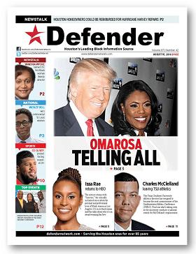 Houston Defender August 16, 2018