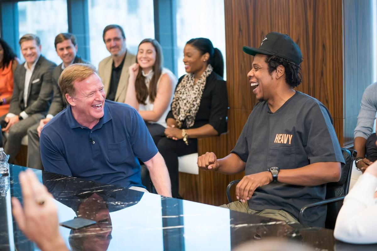 Jay-Z, Roger Goodell