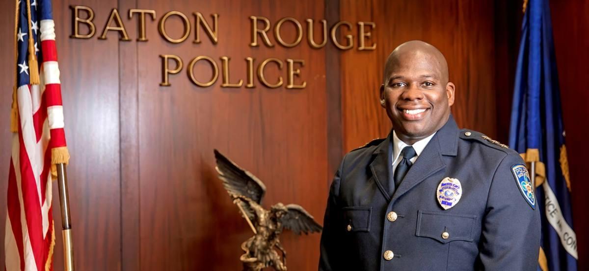 Baton Rouge Police Chief Murphy Paul