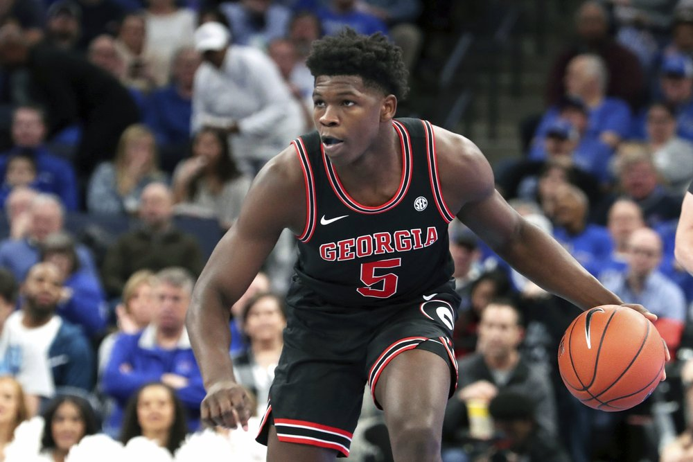 Timberwolves select Edwards with No. 1 pick in delayed NBA draft